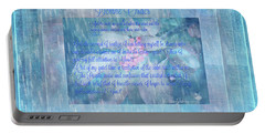 Spiritual Art  Devine Order Portable Battery Charger