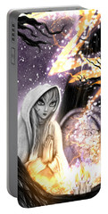 Spiritual Ghost Fantasy Art Portable Battery Charger