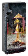 Spiritualistic Buddhism Portable Battery Charger