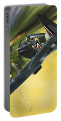 Spitfire And Doodle Bug Portable Battery Charger