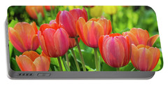 Portable Battery Charger featuring the photograph Splash Of April Color by Bill Pevlor