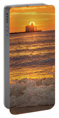 Portable Battery Charger featuring the photograph Splash Of Light by Bill Pevlor