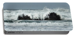 Portable Battery Charger featuring the photograph Splash by Peggy Hughes