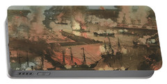 Splendid Naval Triumph Of The Mississippi Portable Battery Charger
