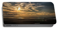 Portable Battery Charger featuring the photograph Splendorous Sunset by John M Bailey