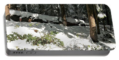 The Splendour Of Snow Portable Battery Charger