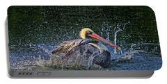 Portable Battery Charger featuring the photograph Splish Splash by HH Photography of Florida