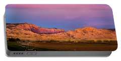Split Mountain Sunset Portable Battery Charger