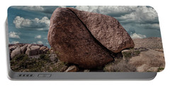 Portable Battery Charger featuring the photograph Split Rock In Joshua Tree National Park by Randall Nyhof