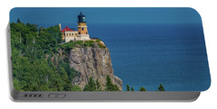Split Rock Lighthouse View Portable Battery Charger