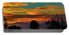 Split Sunset Portable Battery Charger