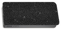 Black Sponge Glass Implosion Portable Battery Charger