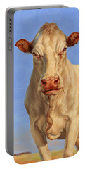 Spooky Cow Portable Battery Charger