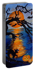 Spooky Hollow - Painting Portable Battery Charger