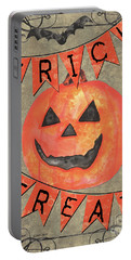 Spooky Pumpkin 1 Portable Battery Charger