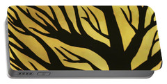 Spooky Tree Yellow Portable Battery Charger