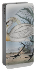 Spoonbill Portable Battery Charger by John Gould