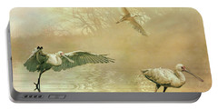 Spoonbill Morning Portable Battery Charger