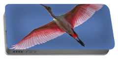 Spoonbill Soaring Portable Battery Charger
