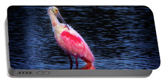 Spoonbill Sunset Portable Battery Charger