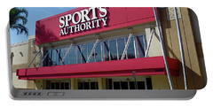 Sports Authority Building. Florida Portable Battery Charger