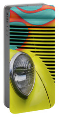 Sporty Hot Rod Portable Battery Charger