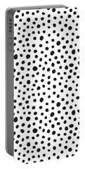 Spots Portable Battery Charger by Rachel Follett