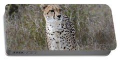 Portable Battery Charger featuring the photograph Spotted Beauty by Fraida Gutovich