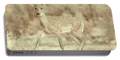 Spotted Fawn Portable Battery Charger
