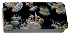 Spotted Lagoon Jellies Portable Battery Charger