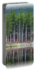 Sprague Lake 03 Portable Battery Charger by Pamela Critchlow