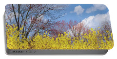 Portable Battery Charger featuring the photograph Spring 2017 Square by Bill Wakeley