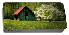 Spring And The Barn Portable Battery Charger