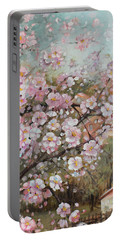Spring At Country Side Portable Battery Charger