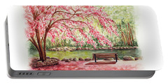 Spring At Lithia Park Portable Battery Charger