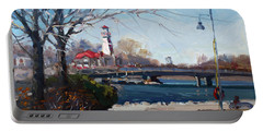 Spring At Port Credit Portable Battery Charger