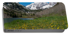 Spring At The Maroon Bells Portable Battery Charger