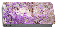 Portable Battery Charger featuring the photograph Spring Bloom Of Rhododendron  by Jenny Rainbow