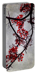 Spring Bloosom In Maldives. Flamboyant Tree II. Japanese Style Portable Battery Charger