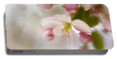 Portable Battery Charger featuring the photograph Spring Blossom Whisper by Diane Alexander
