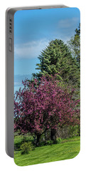 Portable Battery Charger featuring the photograph Spring Blossoms by Paul Freidlund