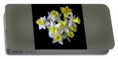 Spring Bouquet Portable Battery Charger by Don Spenner