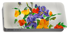 Spring Bouquet For Bobbi Portable Battery Charger