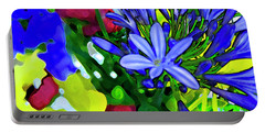 Portable Battery Charger featuring the digital art Spring Bouquet by Gina Harrison