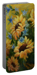 Sunflowers Galore Portable Battery Charger