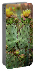 Spring Cactus Portable Battery Charger