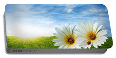 Spring Portable Battery Charger