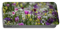 Spring Colors Portable Battery Charger by Eva Lechner