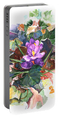 Spring Crocus Portable Battery Charger