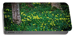 Spring Daffoldils Portable Battery Charger